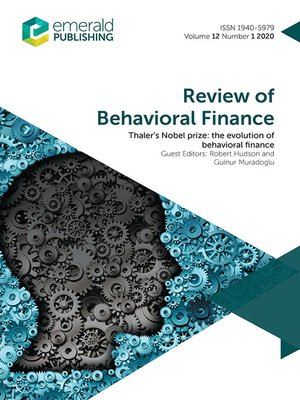 cover image of Review of Behavioral Finance, Volume 12, Number 1