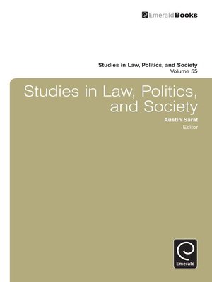 cover image of Studies in Law, Politics, and Society, Volume 55