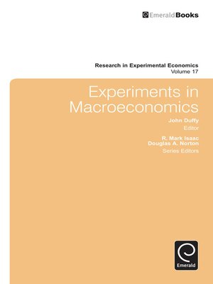cover image of Research in Experimental Economics, Volume 17