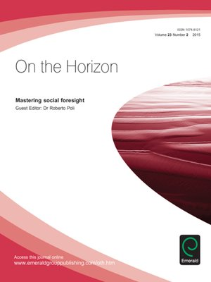 cover image of On the Horizon, Volume 23, Issue 2