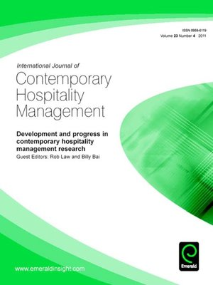 the contemporary issues in hospitality management According to ottenbacher and gnoth (2005) there are several contemporary  issues in the hospitality industry which include, human resource.