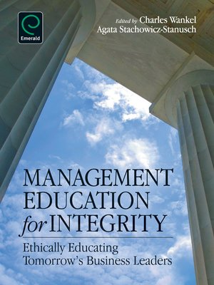 cover image of Management Education for Integrity
