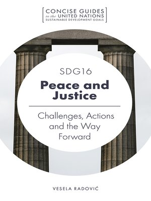 cover image of SDG16 - Peace and Justice