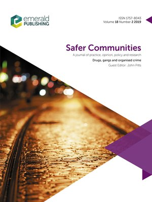 cover image of Safer Communities, Volume 18, Number 2