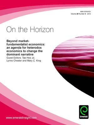 cover image of On the Horizon, Volume 20, Issue 3