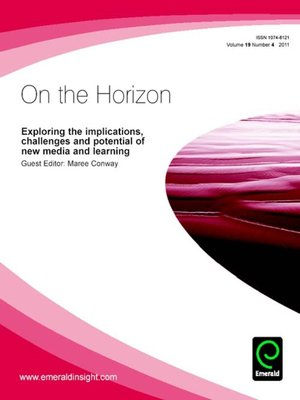 cover image of On the Horizon, Volume 19, Issue 4