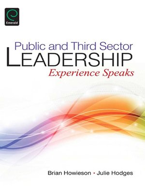 cover image of Public and Third Sector Leadership