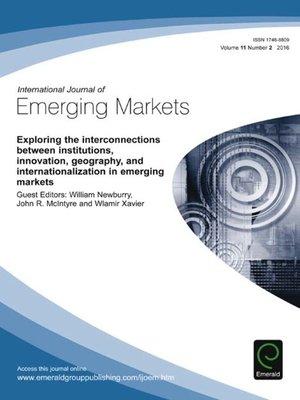 cover image of International Journal of Emerging Markets, Volume 11, Number 2