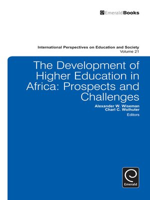 cover image of International Perspectives on Education and Society, Volume 21