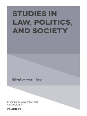 cover image of Studies in Law, Politics, and Society