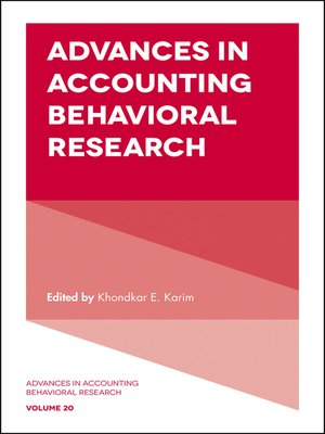 research of emerging accounting issues Emerging pathways for the next generation of  projects include funding for relevant accounting research,  for the next generation of accountants,.