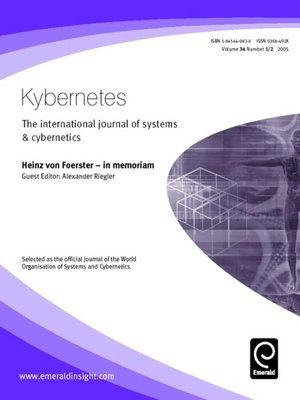 cover image of Kybernetes, Volume 34, Issue 1 & 2