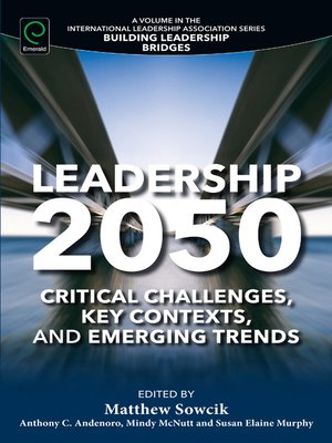 cover image of Leadership 2050