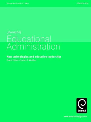 cover image of Journal of Educational Administration, Volume 41, Issue 2