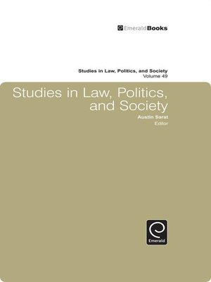 cover image of Studies in Law, Politics, and Society, Volume 49
