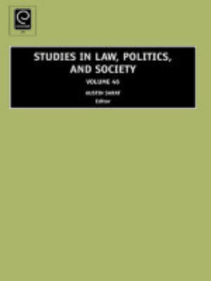 cover image of Studies in Law, Politics, and Society, Volume 46