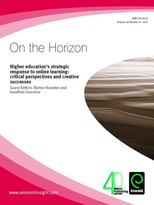 cover image of On the Horizon, Volume 15, Issue 3