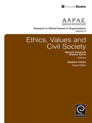 cover image of Research in Ethical Issues in Organizations, Volume 9