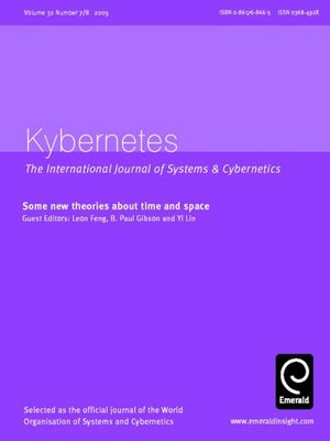 cover image of Kybernetes, Volume 32, Issue 7 & 8