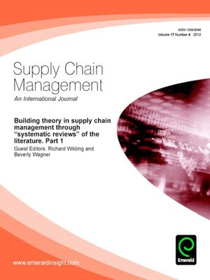 Supply Chain Management, Volume 17, Issue 4 by Richard