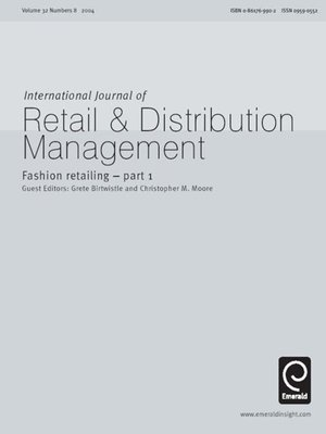 cover image of International Journal of Retail & Distribution Management, Volume 32, Issue 8
