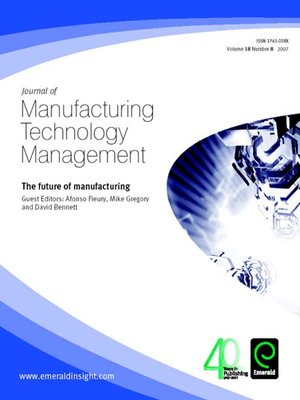 cover image of Journal of Manufacturing Technology Management, Volume 18, Issue 8