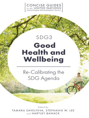 cover image of SDG3 - Good Health and Wellbeing