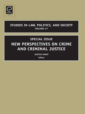 cover image of Studies in Law, Politics, and Society, Volume 47
