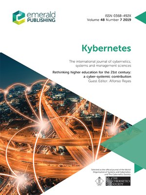 cover image of Kybernetes, Volume 48, Number 7