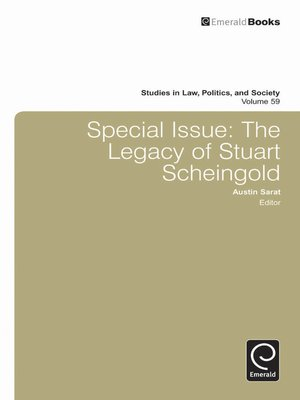 cover image of Studies in Law, Politics, and Society, Volume 59