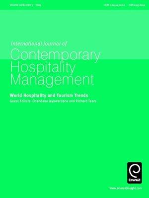international journal of contemporary hospitality management pdf