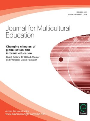 cover image of Journal for Multicultural Education, Volume 8, Issue 3