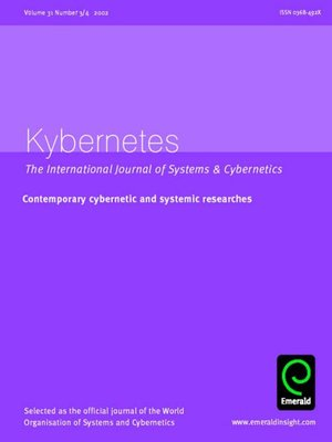 cover image of Kybernetes, Volume 31, Issue 3 & 4