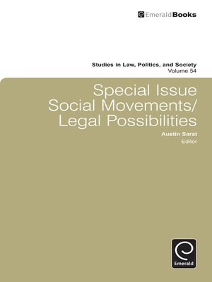 cover image of Studies in Law, Politics, and Society, Volume 54