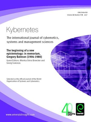 cover image of Kybernetes, Volume 36, Issue 7 & 8