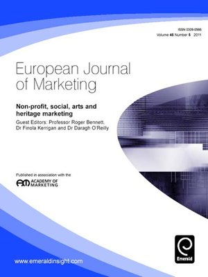 cover image of European Journal of Marketing, Volume 45, Issue 5