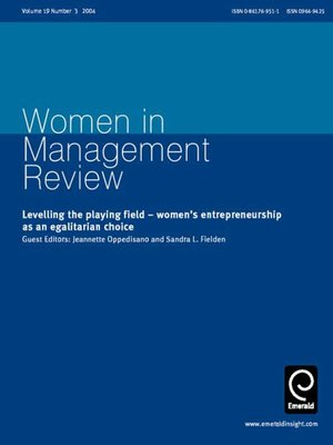 gender and management fielden dr s andra