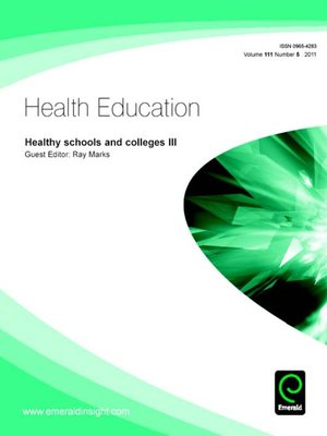 cover image of Health Education, Volume 111, Issue 5