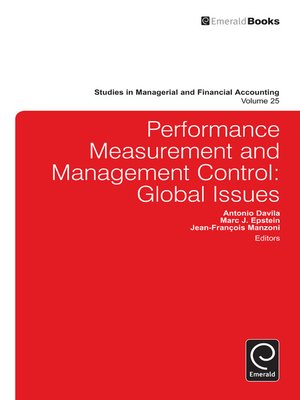cover image of Studies in Managerial and Financial Accounting, Volume 25