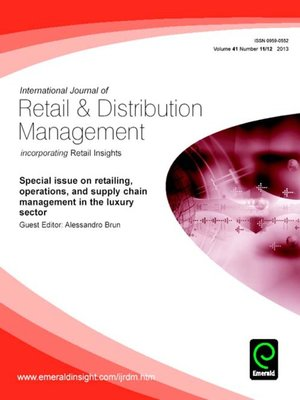"international journal of retail distribution Luxury fashion brand"" international journal of retail & distribution management vol32 no8 pp412-422 moore, cm & birtwistle, g (2005) ""the nature of parenting advantage in luxury fashion retailing – the case of gucci group nv"" international journal of retail & distribution management vol33 no4 pp256-270."