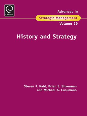 cover image of Advances in Strategic Management, Volume 29