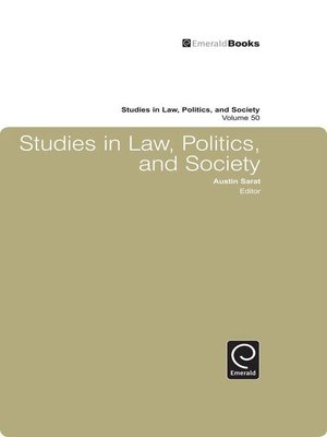 cover image of Studies in Law, Politics, and Society, Volume 50