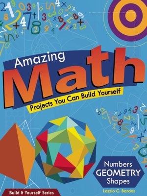 cover image of Amazing Math Projects