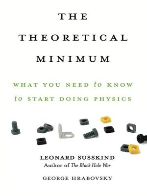 cover image of The Theoretical Minimum