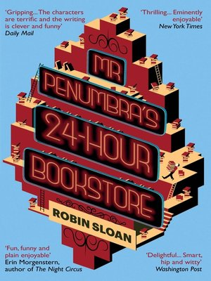 cover image of Mr Penumbra's 24-hour Bookstore