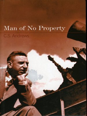 cover image of Man of No Property