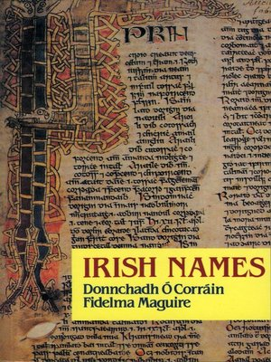 cover image of Irish Names