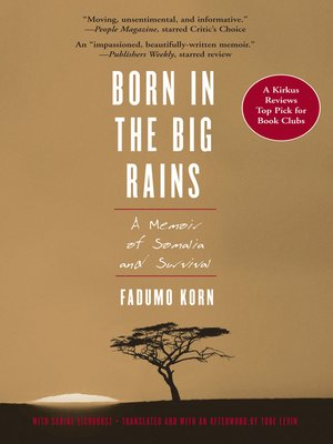 cover image of Born in the Big Rains