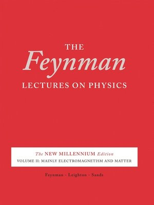 cover image of The Feynman Lectures on Physics, Volume 2