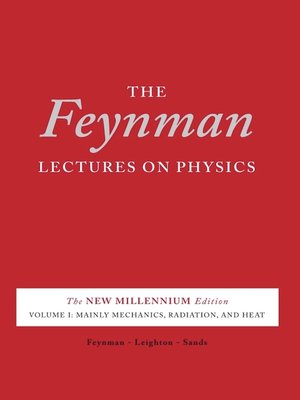cover image of The Feynman Lectures on Physics, Volume 1 for tablets